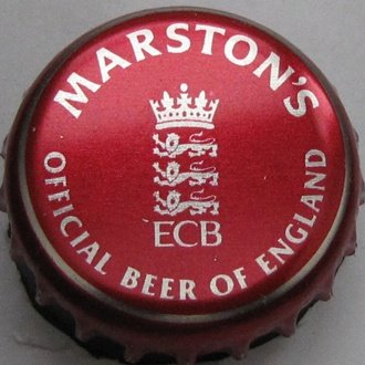 W. Brytania, Marston's, ECB Official Beer Of England.jpg