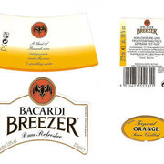 Bacardi labels