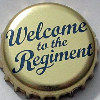 W. Brytania, Bombardier Wells, Welcome to the Regiment.JPG